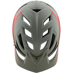 Troy Lee Designs A1 MIPS Classic Helmet Youth orange/grey